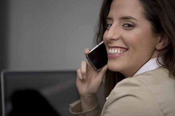 Reyna Franco provides phone and email counseling for those who cannot come to her NYC office.