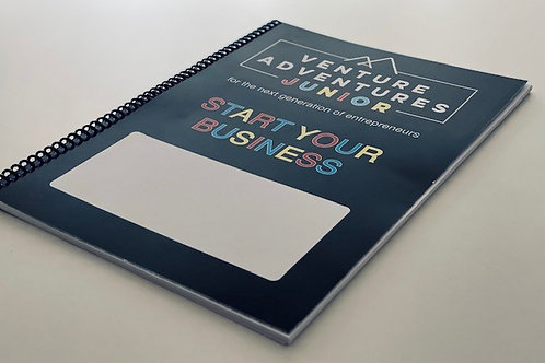 Venture Adventures Junior - Start Your Business Workbook