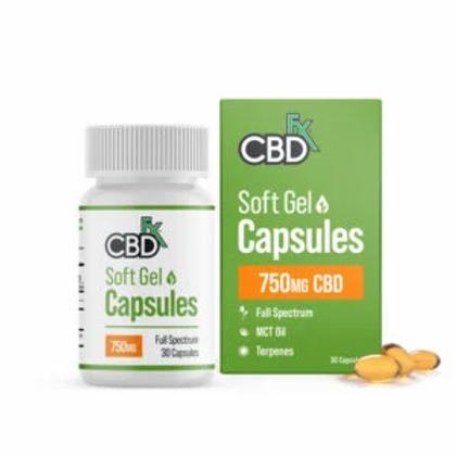 CBD Gel Capsules 750-1500MG