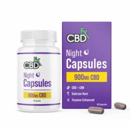 CBD + CBN night Capsules For Sleep 900mg