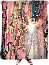 Dark Redness Wall Tapestry