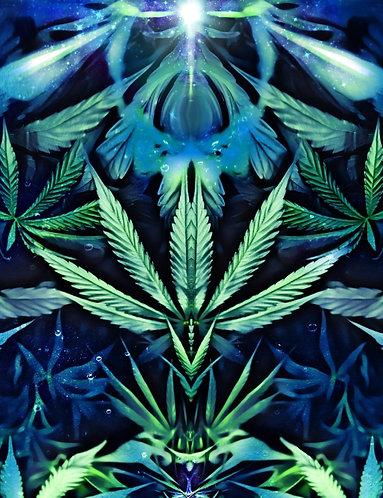 Green Dreams Wall Tapestry