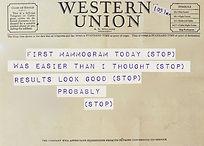 Sample of a Telegram