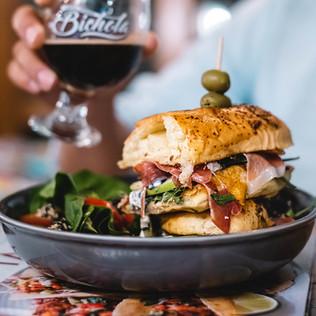 Sandwich de Jamín Serrano