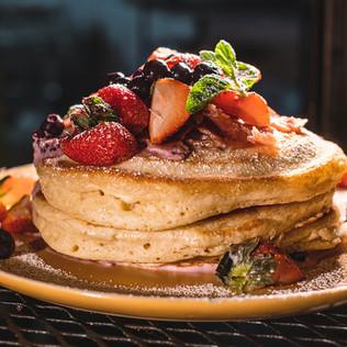 Hotcakes de Frutos Rojos