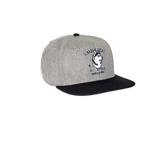 Basecap Husky Grey
