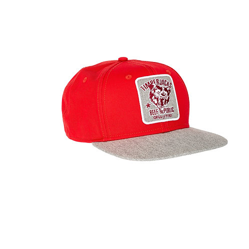 Basecap Grizzly Red