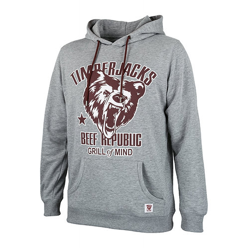 Hoodie Grizzly Grey
