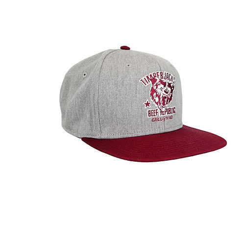 Basecap Grizzly Grey 2