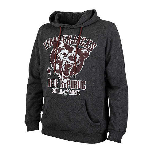 Hoodie Grizzly Charcoal