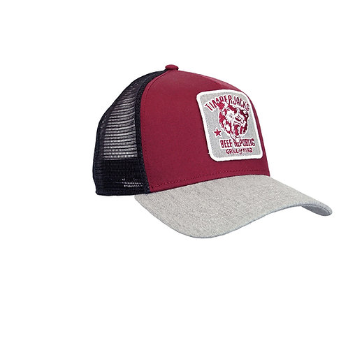 Basecap Grizzly Wine/Black