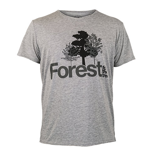 T-Shirt Forest for the trees Man Grey