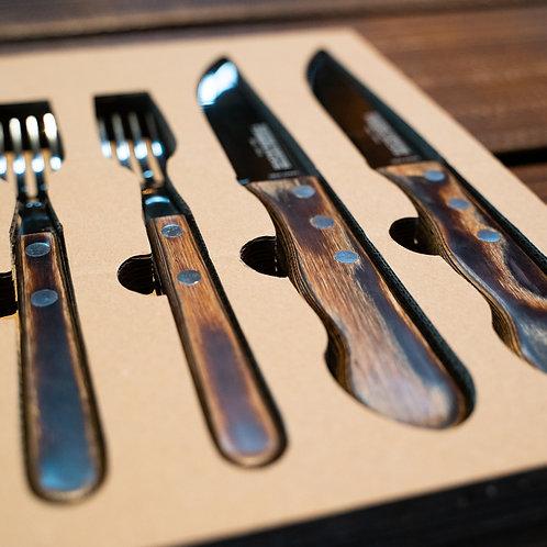 Timberjacks BBQ Cutlery Set
