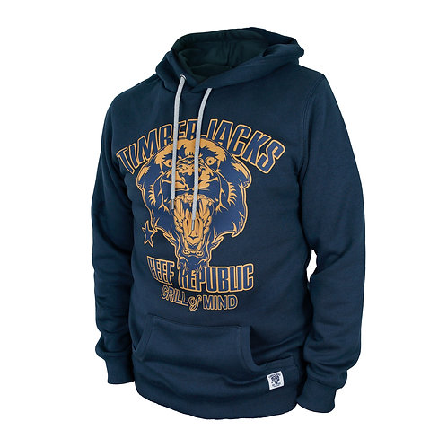 Hoodie Mountain Lion Navy