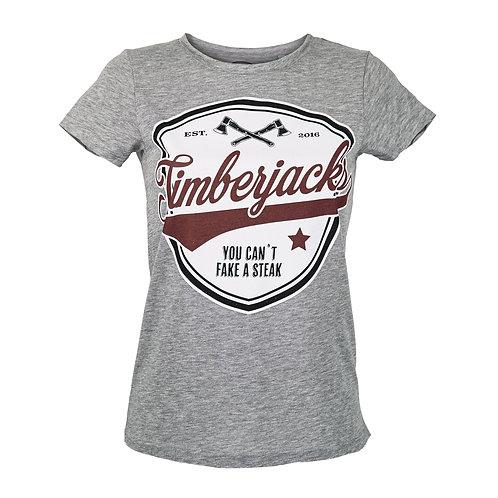 T-Shirt Cant Fake Woman Grey