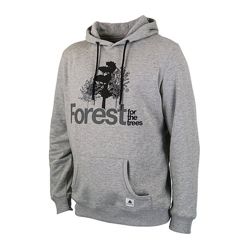 Hoodie Forest for the trees Grey