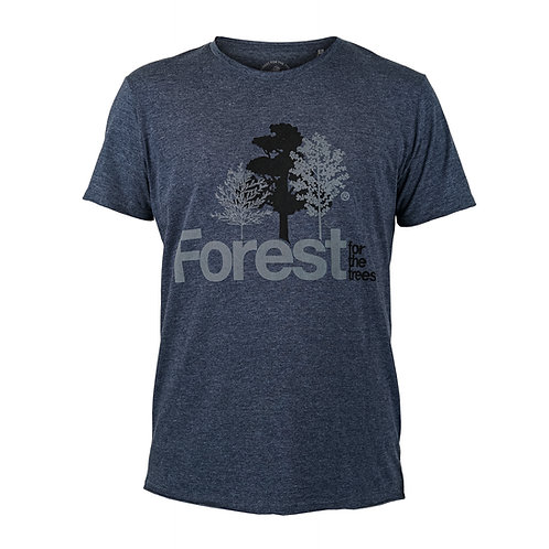 T-Shirt Forest for the trees Man Navy