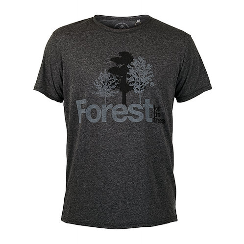 T-Shirt Forest for the trees Man Charcoal