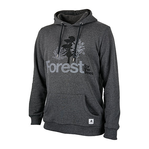 Hoodie Forest for the trees Charcoal
