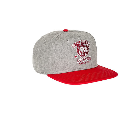 Basecap Grizzly Grey