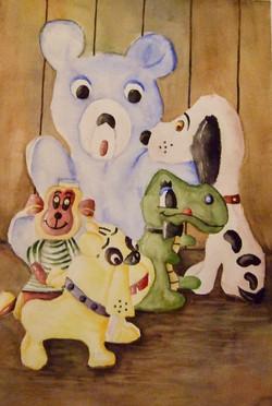 """STUFFED ANIMALS"""