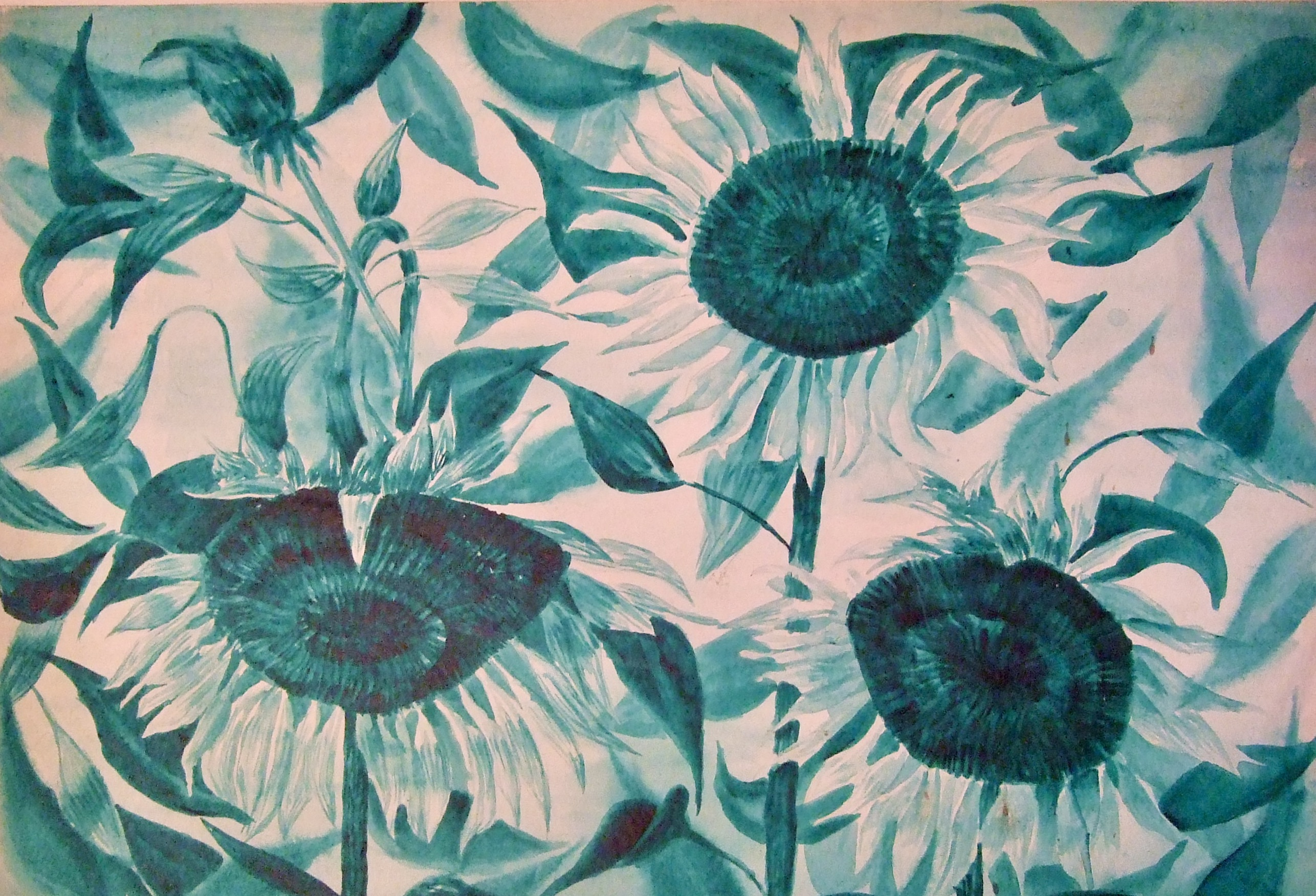 """EMERALD SUNFLOWERS"""
