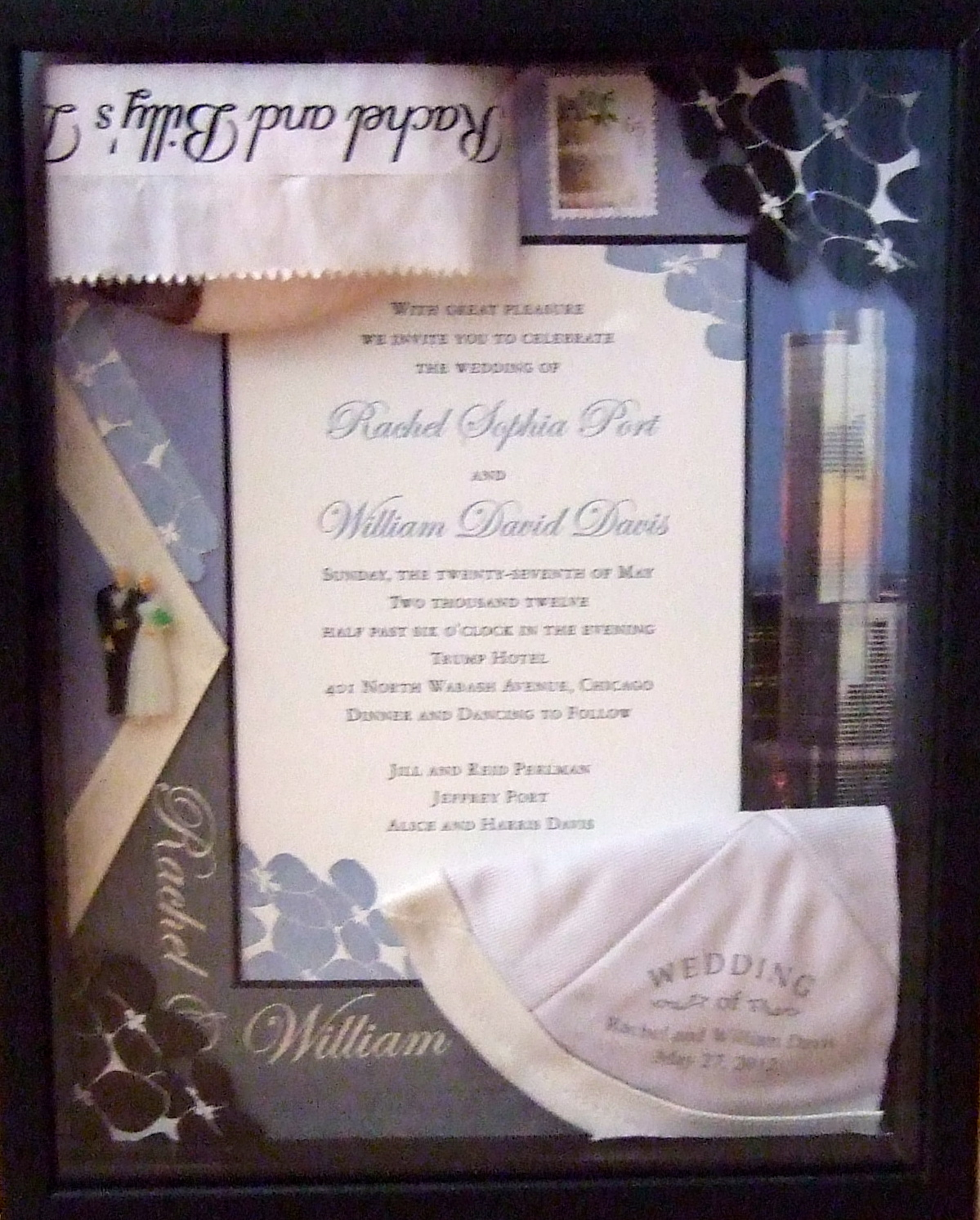"""WEDDING ART BOX"""