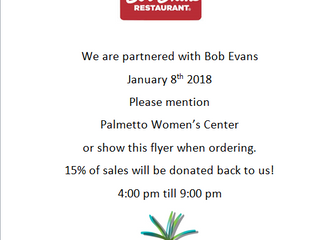 Join Us at Bob Evans