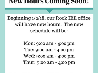 Our Hours Have Changed