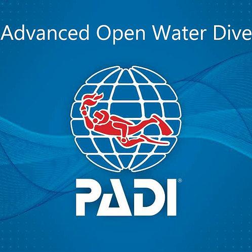 Advanced Open Water Diver 進階開放水域潛水員課程