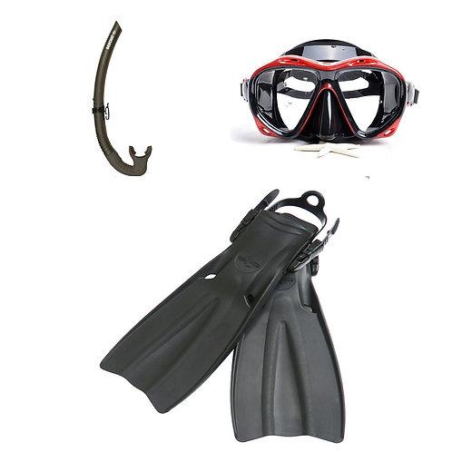 Mask+Snorkel+Fins