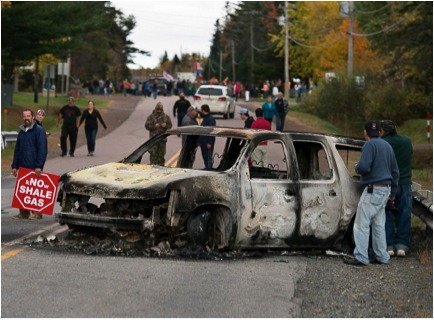 Shale Gas, Protests and Aboriginal Rights in New Brunswick