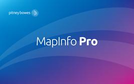 MapInfo Professiona