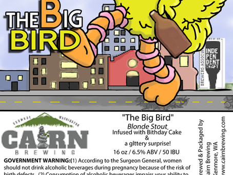 Cairn Brewing Gives 2020 The Big Bird