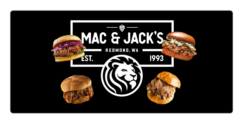 Mac & Jack's with Pork Sliders