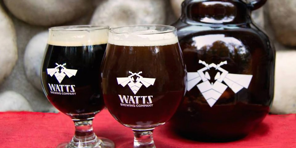 Watts Brewing Experimental Beers Night
