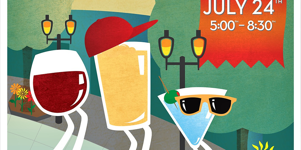 Downtown Bothell Summer Wine, BEER, and Spirits Walk