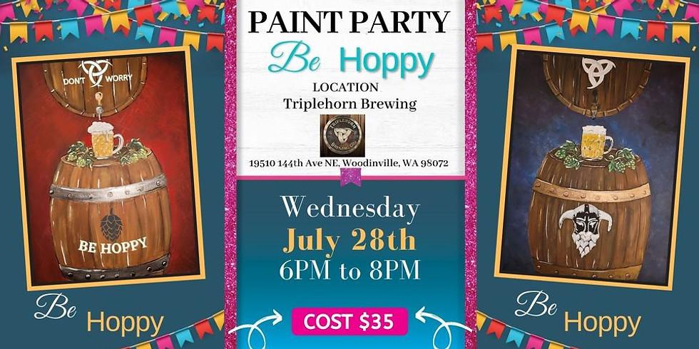 Be HOPPY! Paint Party