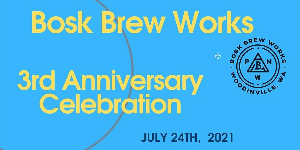 3rd Anniversary for Bosk Brew Works