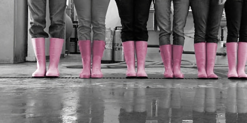 Pink Boots Society Collaboration with Crucible Brewing - Woodinville Forge