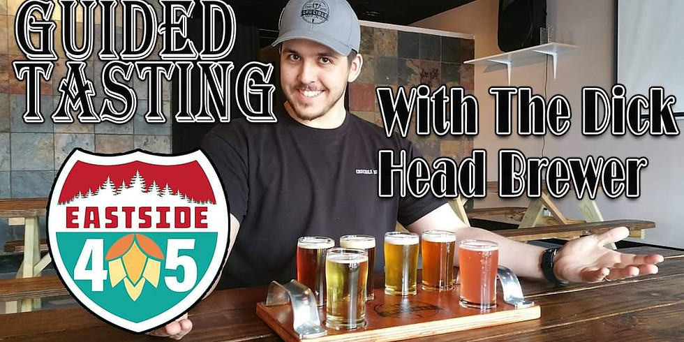EBW Guided Beer Tasting with the Dick Head Brewer