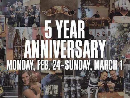 Postdoc's 5th Anniversary