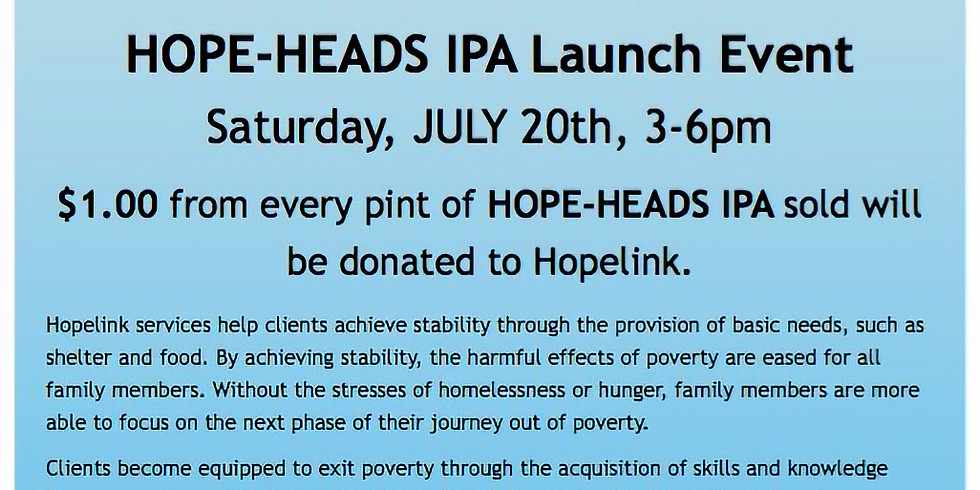 HOPE-HEADS for Hopelink