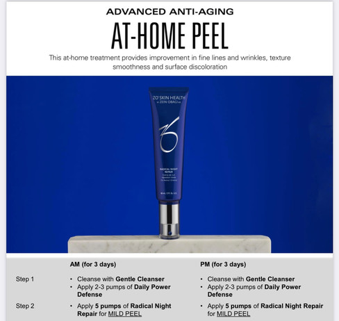Brightening ZO Home Facial Peel for $199 (value $246)