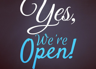 Hello Lovelies! We are open today 1-6pm.  We would love to see you!