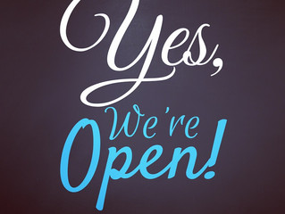 Hello Lovelies! We are open today 1-6pm.We would love to see you!