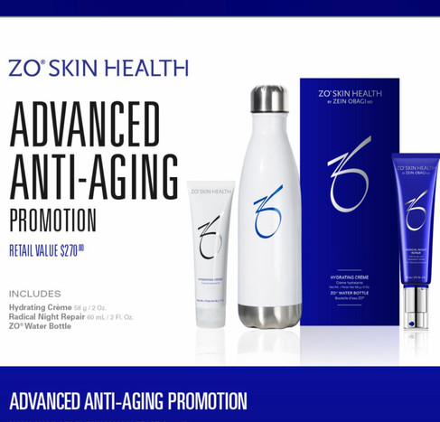 ZO Skin Health Advanced Anti-Aging Promotion for $210 (value $270)