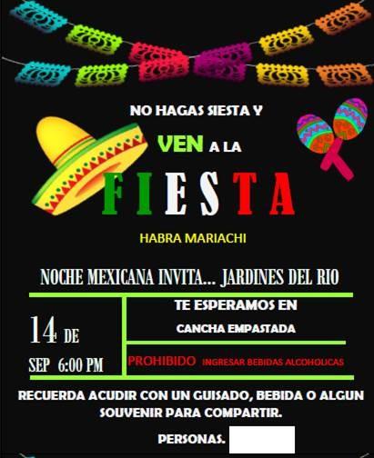 Fiesta Mexicana Jardines 1
