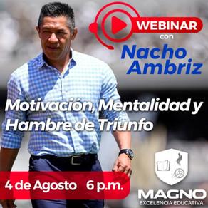 """Universidad Magno / Webinar: """"Motivación, mentalidad y hambre de triunfo"""""""