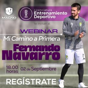 Universidad Magno / Webinar con Fernando Navarro